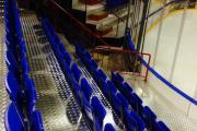sièges de gradin rabattables 8a